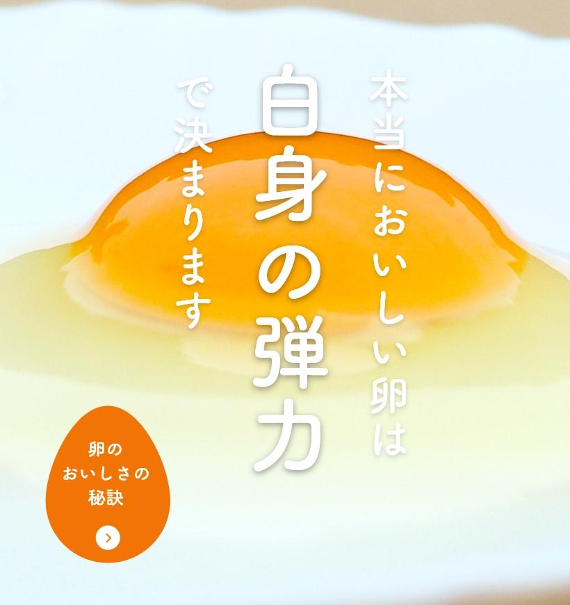 卵のおいしさの秘訣