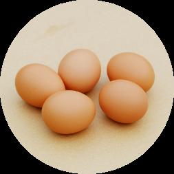 卵の粘液を守り日持ちのため、無洗卵にも対応